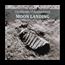 2019 Cook Islands 1 oz Silver Moon Landing Footprint (Meteorite)
