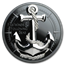 2019 Cook Islands 2 oz Silver Fair Winds (Anchor)