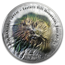 2019 Cook Islands 5 oz Silver 7 Summits (Kilimanjaro)