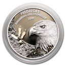2019 Dem. Republic of Congo 1 oz Silver Bald Eagle with Color