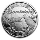 2019 Dominica 1 oz Silver Sisserou Parrot BU