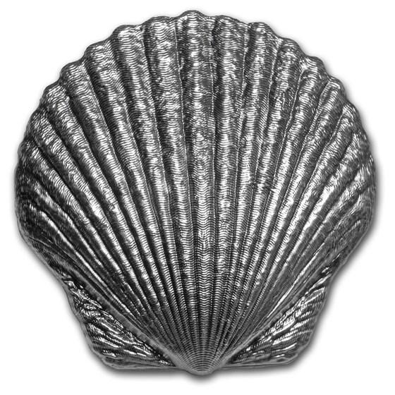 2019 Fiji 1 oz Silver Seashell Proof