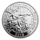 2019 GB 1 oz Proof SIL Britannia Spirit of a Nation (Box & COA)