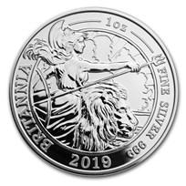 2019 GB 1 oz Silver Britannia Spirit of a Nation Prf (Box & COA)