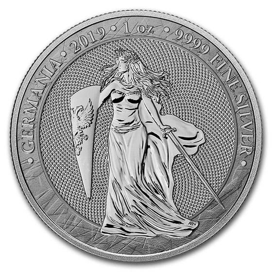 2019 Germania 1 oz Silver Round BU