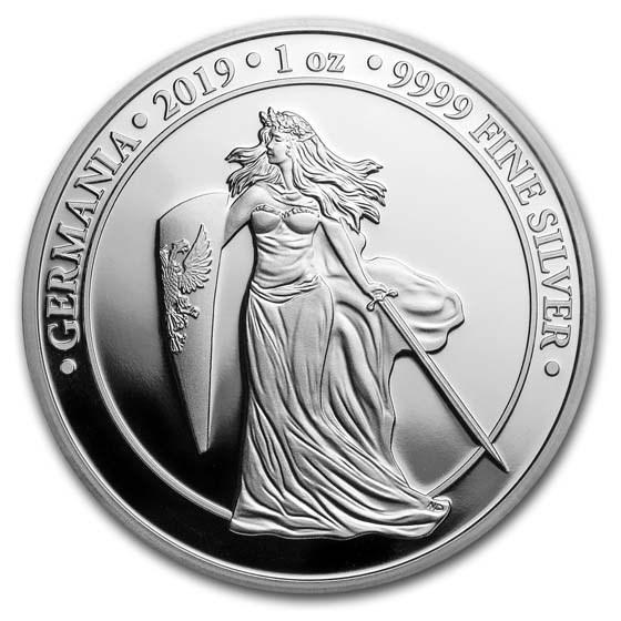 2019 Germania 1 oz Silver Round Proof