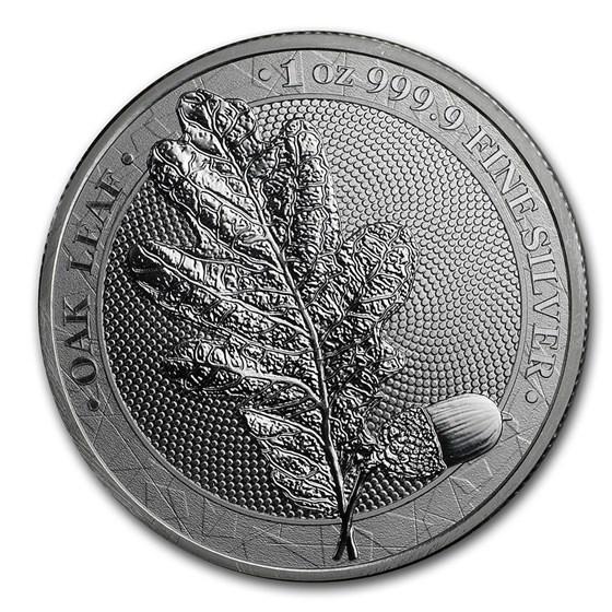 2019 Germania Silver Oak Leaf BU Round - 1 oz (No COA)