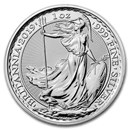 2019 Great Britain 1 oz Silver Britannia BU