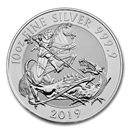 2019 Great Britain 10 oz Silver Valiant BU