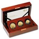 2019 Great Britain 3-Coin Gold Britannia Proof Set