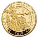 2019 Great Britain 5 oz Proof Gold Britannia
