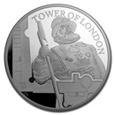 2019 Great Britain 5 oz Silver £10 Proof The Yeoman Warders