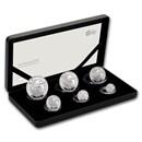 2019 Great Britain 6-Coin Silver Britannia Proof Set