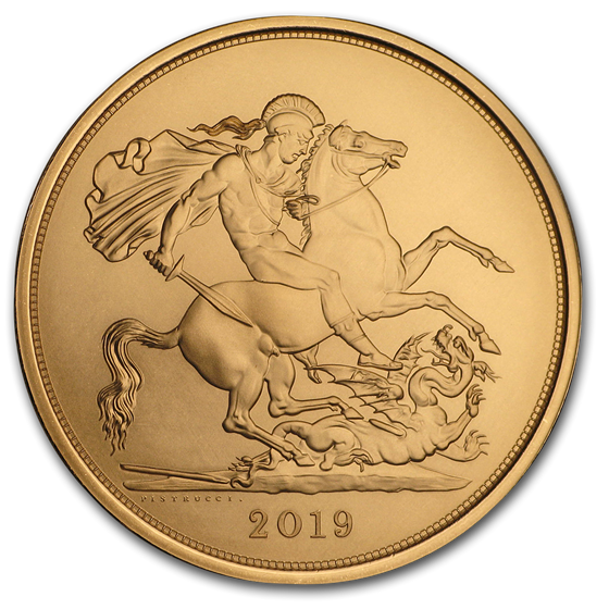 2019 Great Britain Gold 5 Sovereign