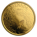 2019 Grenada 1 oz Gold Diving Paradise BU