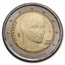 2019 Italy 2 Euro Leonardo da Vinci BU