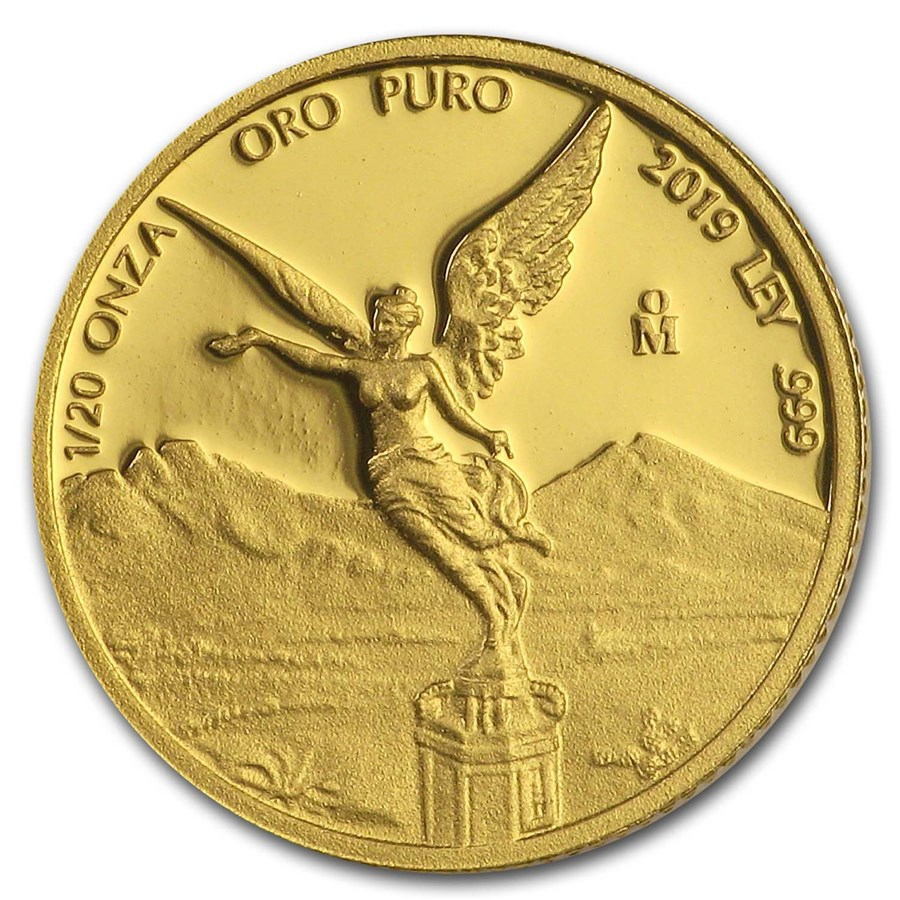 2019 Mexico 1/20 oz Proof Gold Libertad