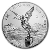 2019 Mexico 1 kilo Silver Libertad Prooflike (w/Box & COA)