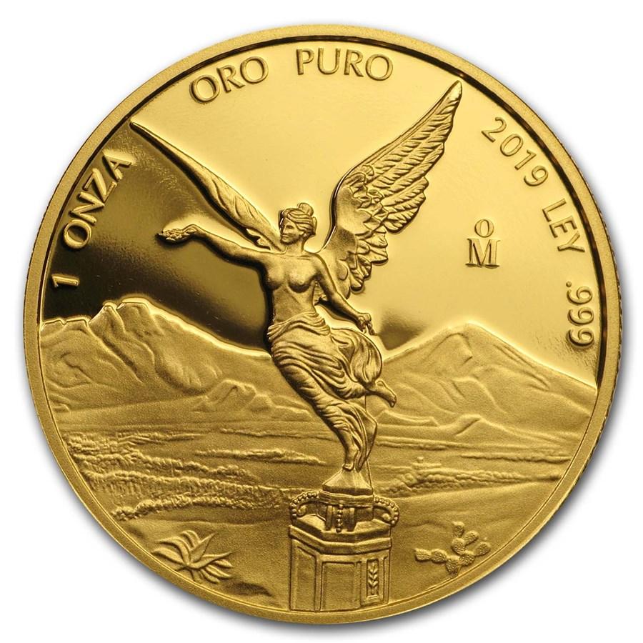 2019 Mexico 1 oz Proof Gold Libertad