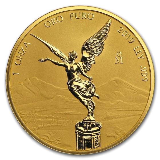 2019 Mexico 1 oz Reverse Proof Gold Libertad