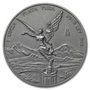 2019 Mexico 1 oz Silver Libertad Antiqued Finish