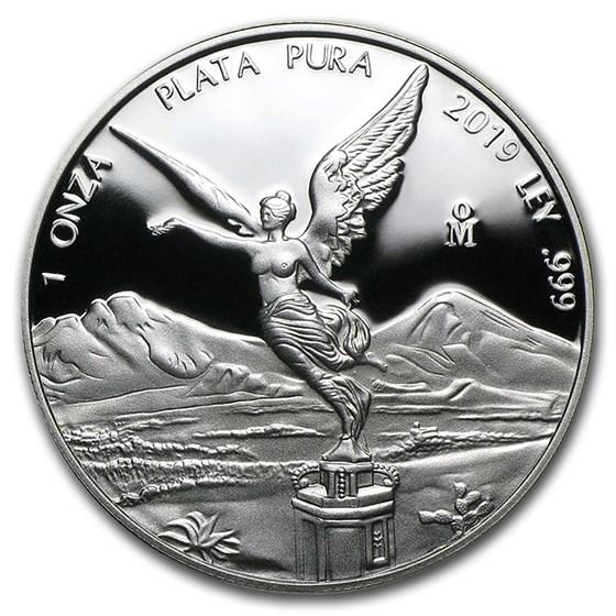 2019 Mexico 1 oz Silver Libertad Proof (In Capsule)