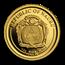 2019 Nauru 1/2 gram Gold Leonardo da Vinci: Vitruvian Man