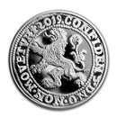 2019 Netherlands 1 oz Silver Lion Dollar Restrike (BU)
