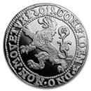 2019 Netherlands 1 oz Silver Proof Lion Dollar (w/Box & COA)