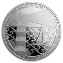 2019 New Zealand 1 oz Silver Proof Lighthouses (Tiritiri Matangi)