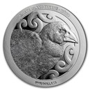 2019 New Zealand 1 oz Silver Proof North Island Takahe