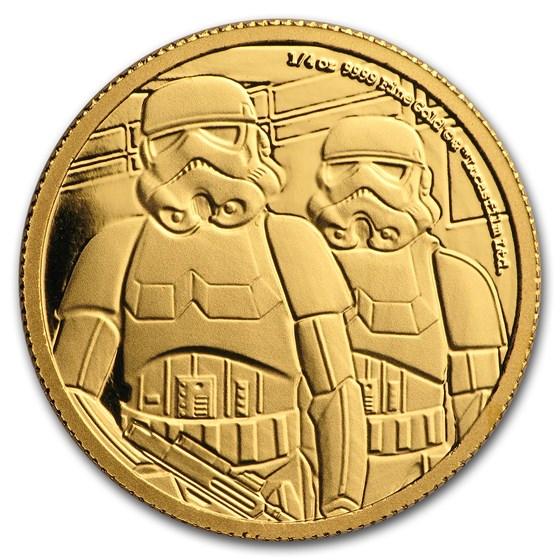 2019 Niue 1/4 oz Gold Star Wars Stormtrooper (Box & COA)