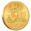2019 Niue 1 oz Gold $250 Disney Donald Duck 85th Anniversary BU