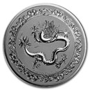 2019 Niue 1 oz Silver $2 Celestial Animals The Green Dragon