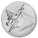 2019 Niue 1 oz Silver $2 Disney Mickey Mouse Fantasia