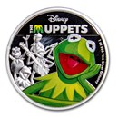 2019 Niue 1 oz Silver $2 Disney The Muppets: Kermit