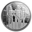 2019 Niue 1 oz Silver $2 Star Wars Stormtrooper (w/Box, COA)