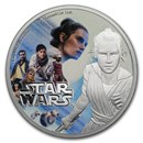 2019 Niue 1 oz Silver $2 Star Wars The Rise of Skywalker: Rey
