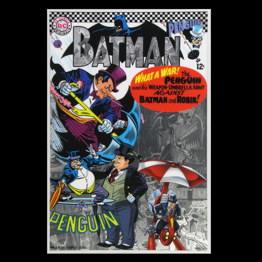 2019 Niue 5 gram Silver $1 Batman Villains: The Penguin Foil Note