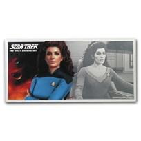 2019 Niue 5 gram Silver $1 Note Star Trek Deanna Troi