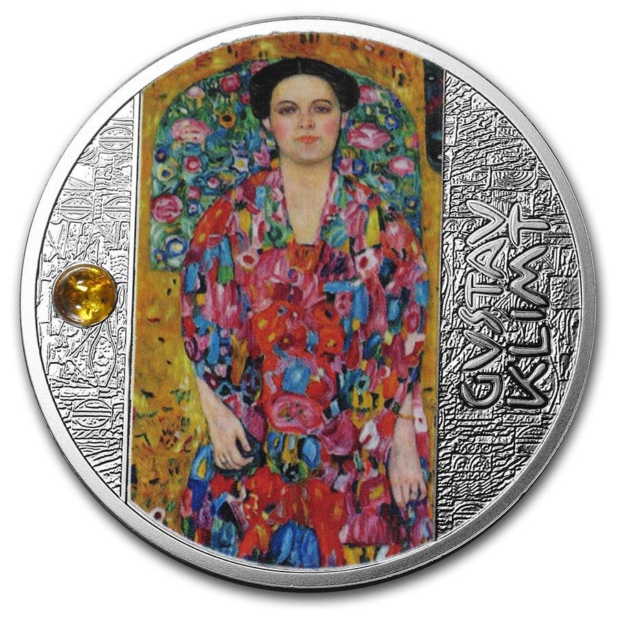 2019 Niue Silver Gustav Klimt Portrait of Eugenia Primavesi
