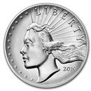 2019-P 2.5 oz Silver American Liberty High Relief (w/Box & COA)