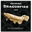 2019 Palau 2 oz Silver Shaped Dragonfish (Golden Arowana)