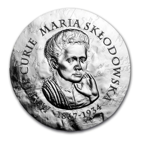 2019 Proof Silver €10 Women of France (Marie Curie)