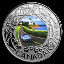 2019 RCM 1/4 oz Silver $3 Celebrating Canadian Fun: Coastal Drive