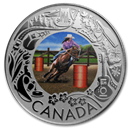 2019 RCM 1/4 oz Silver $3 Celebrating Canadian Fun: Rodeo