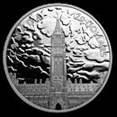 2019 RCM 1 oz Silver $20 Lights on Parliament Hill