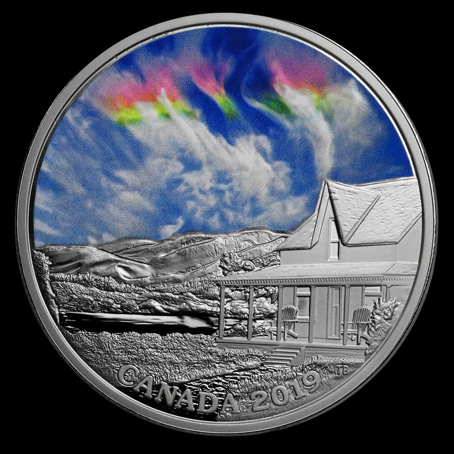 2019 RCM 1 oz Silver $20 Sky Wonders: Fire Rainbow