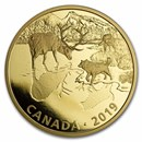 2019 RCM 2 oz Ag $30 Predator and Prey: Wolves and Elk (No Box)