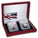 2019 RCM Pride of Two Nations 2-Coin Set PR-70 PCGS (FS)